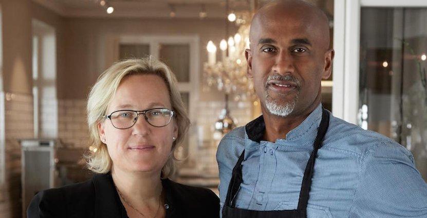 Hotellägarna David Mill och Eva Dahlberg vill satsa 70 miljoner kronor i att locka nya konferensgäster till Grand Hôtel i Mölle.