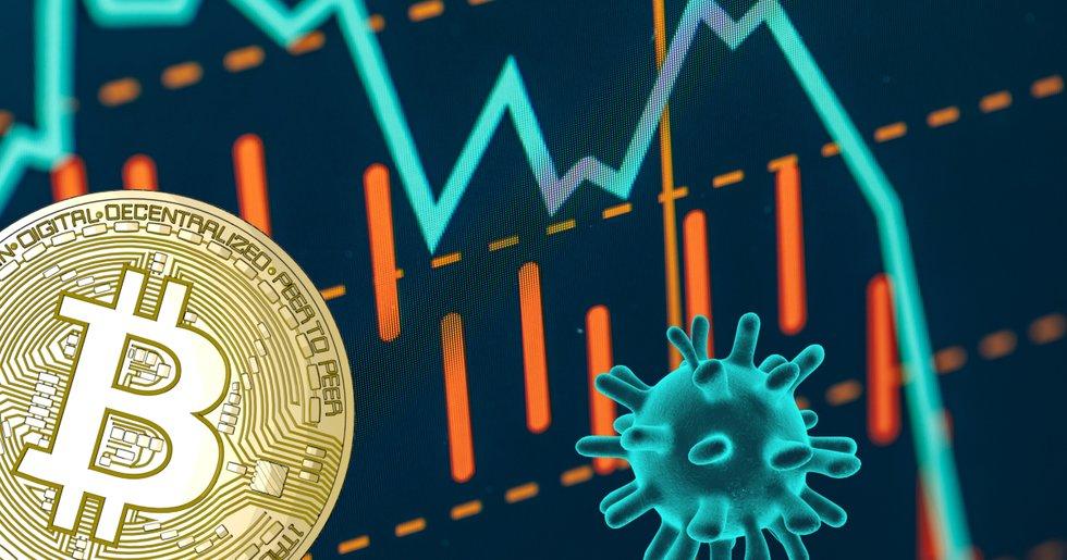 Bitcoinpriset faller återigen under 9 000 dollar.