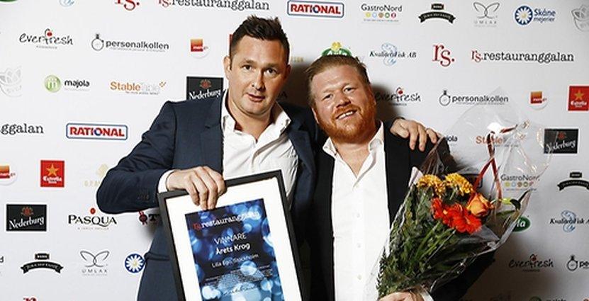 Lilla Ego vann utmärkelsen Årets Krog på Restauranggalan 2017. Foto: Restauranggalan