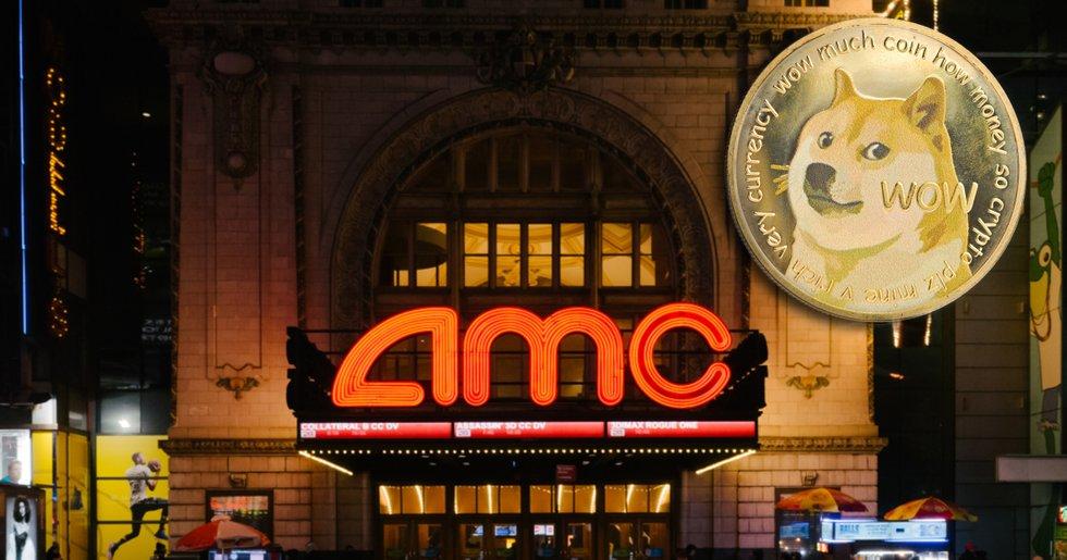 Biografkedjan AMC låter nu sina kunder betala med dogecoin