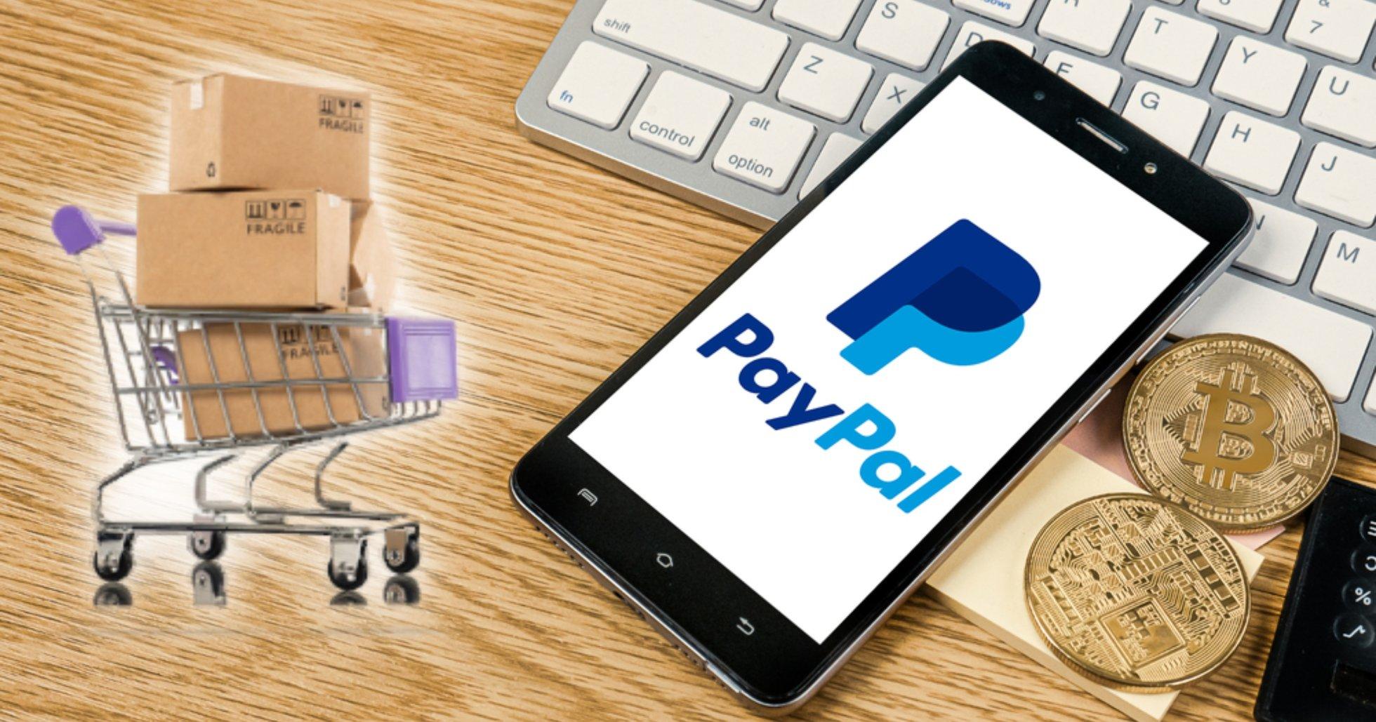 Betaljätten Paypal lanserar kryptovalutor som betalmedel för näthandel