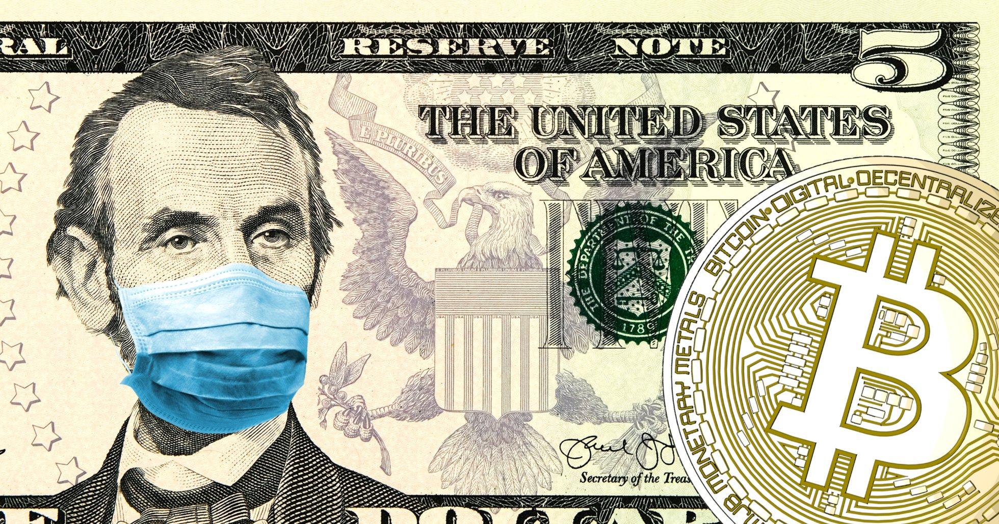 Bitcoinpriset återhämtar sig medan centralbankerna lovar hjälpa den coronavirusdrabbade världsekonomin.
