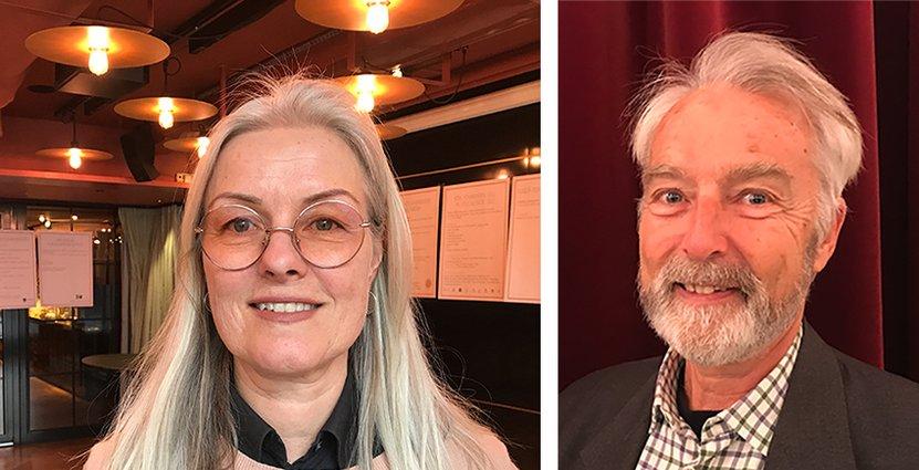 Stina Algotson, vd på BFUF och professor Tommy D Andersson<br />  tycker att utvecklingen går åt rätt håll. Foto: Besöksliv