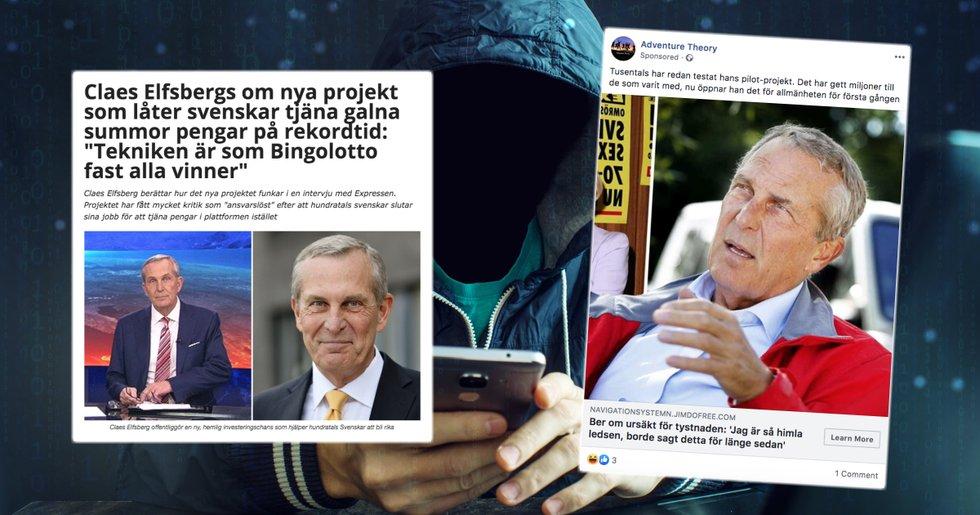 Claes Elfsberg senaste kändisen att utnyttjas i bitcoinbedrägeriet