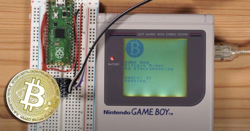 Så kan ett Gameboy från 1989 användas för att minea bitcoin