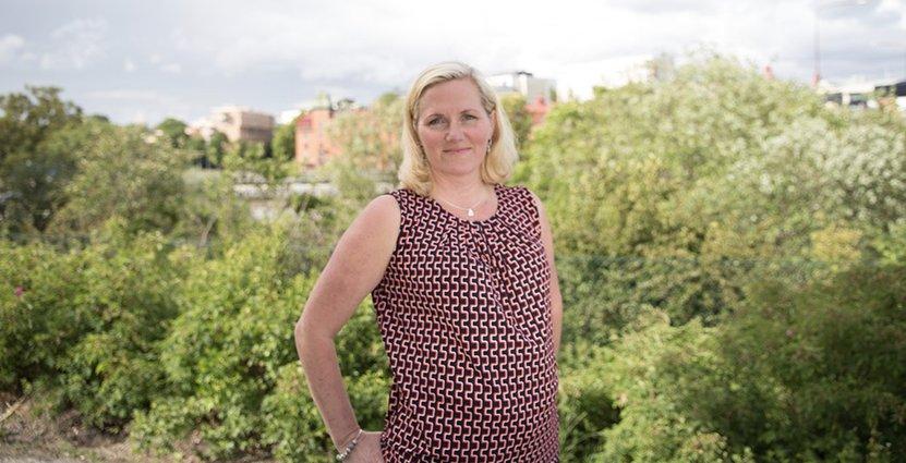 Bitte Ferngren tycker om Scandics förmåga till förändring.  Foto: Pressbild