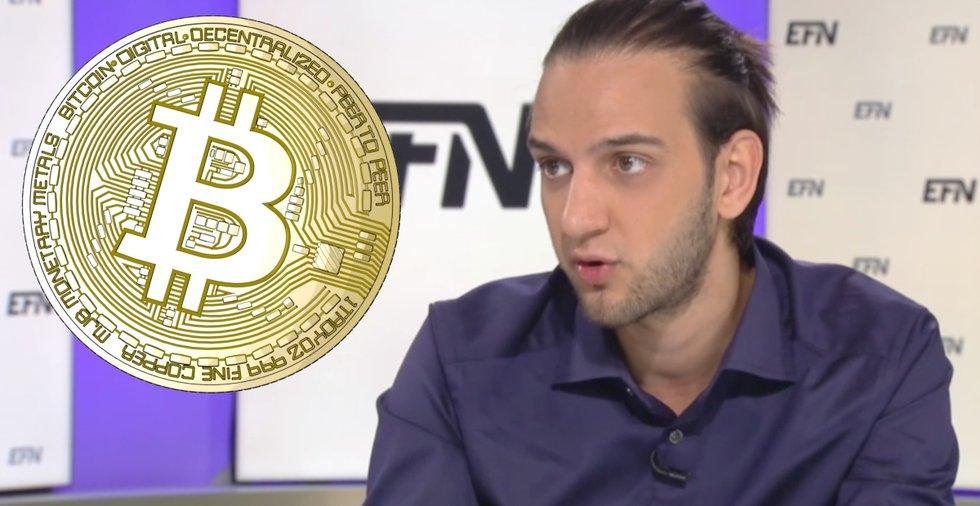 Kryptoprofilen Eric Wall: För tidigt att kalla bitcoin för