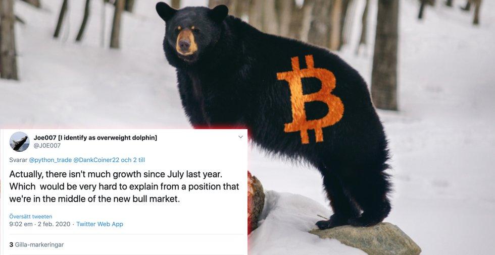 Storinvesterarens varning: Därför är bitcoin inte på väg in i en tjurmarknad