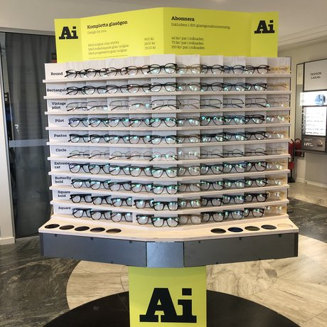 Nu lanserar Synsam Ai Eyewear, sortimentet består av vuxenbågar samt ett sortiment för barn och ungdomar.