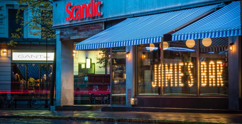 På den svenska marknaden stiger Scandics intäkter som en effekt av fler rum. Foto: Scandic