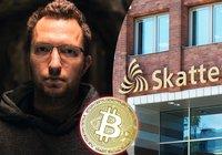 Svensk bitcoinprofil efter ny skattesmäll: