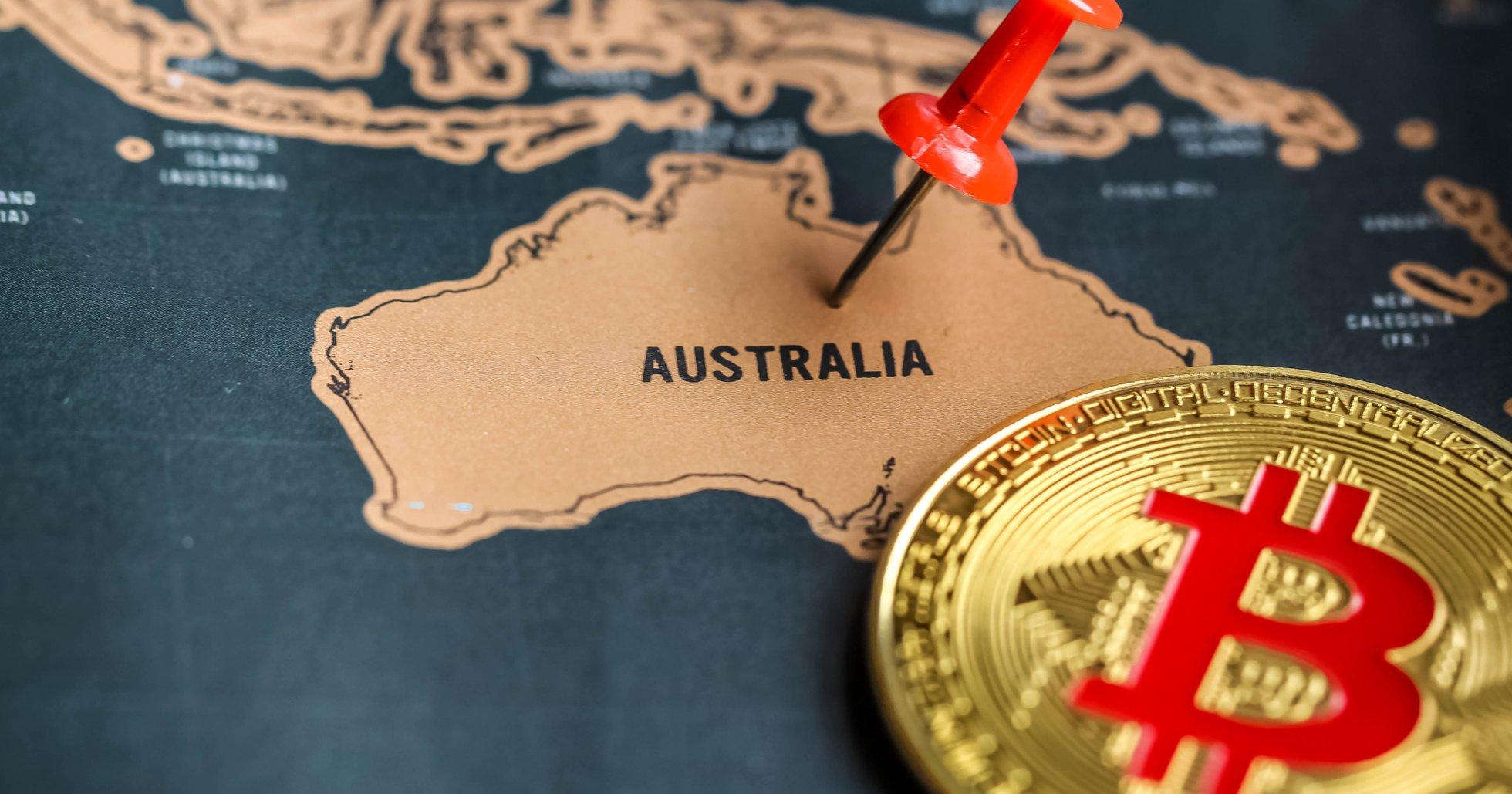 Australien genomför för första gången en börsintroduktion där kryptovaluta används.
