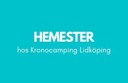 Hemester hos Kronocamping Lidköping