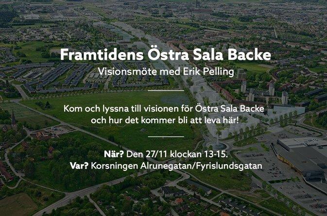Framtidens Östra Sala Backe – Visionsmöte med Erik Pelling