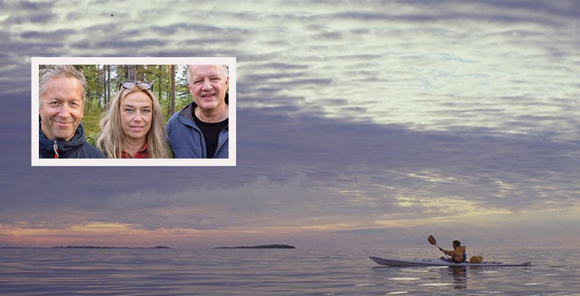 Joakim Hermansson t.v blir tf generalsekreterare för<br />  Naturturismföretagen när Per Jiborn t.h väljer att sluta. Foto: Pressbild, Staffan Widstrand