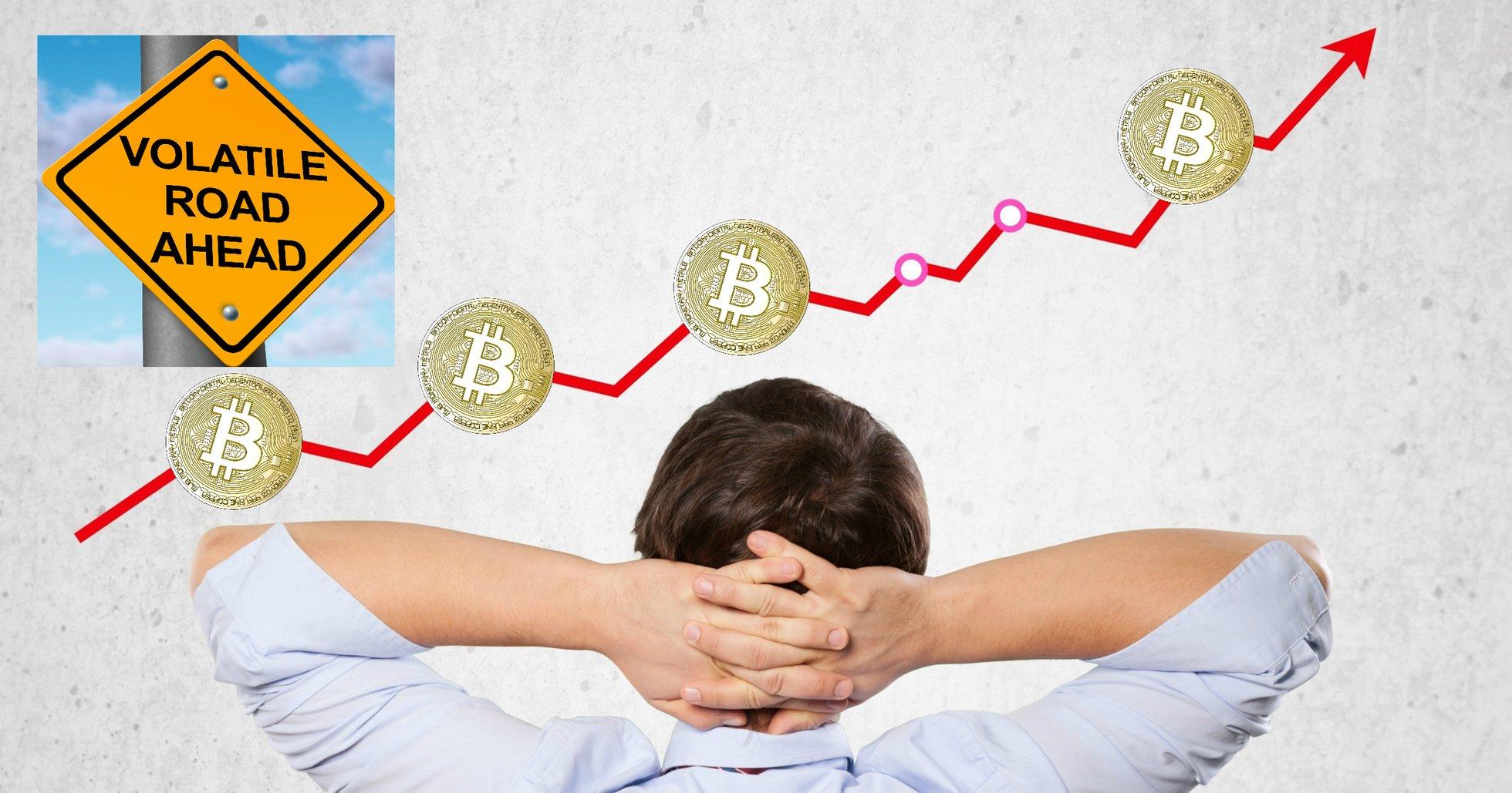 Bitcoinpriset har gått upp över 16 procent på en vecka: