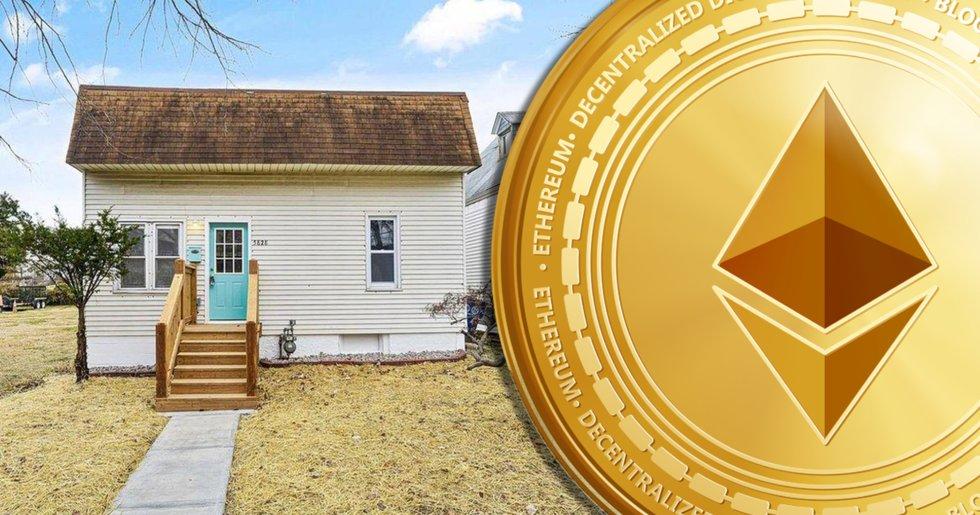 Hus ute till försäljning som NFT – betalningen ska ske i ethereum