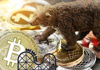 Kryptodygnet: Kurserna visar röda siffror och volatiliteten för bitcoinpriset har ökat kraftigt