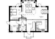 Se planritning för Villa Prästmon