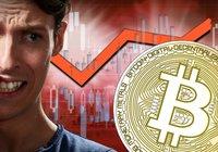 Bitcoinpriset faller – har gått ner nästan 10 procent under det senaste dygnet