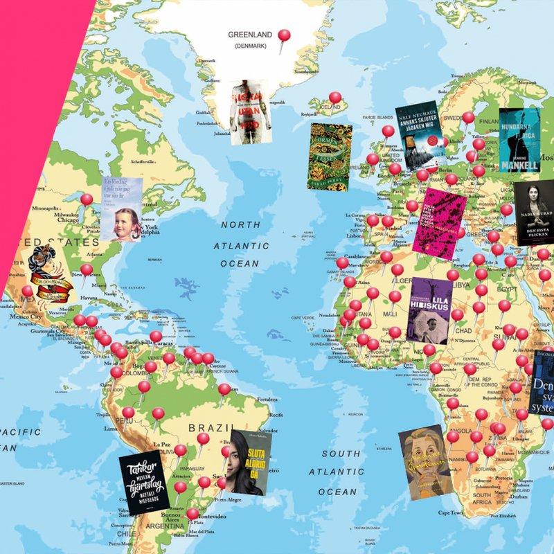 Jorden runt på 160 böcker
