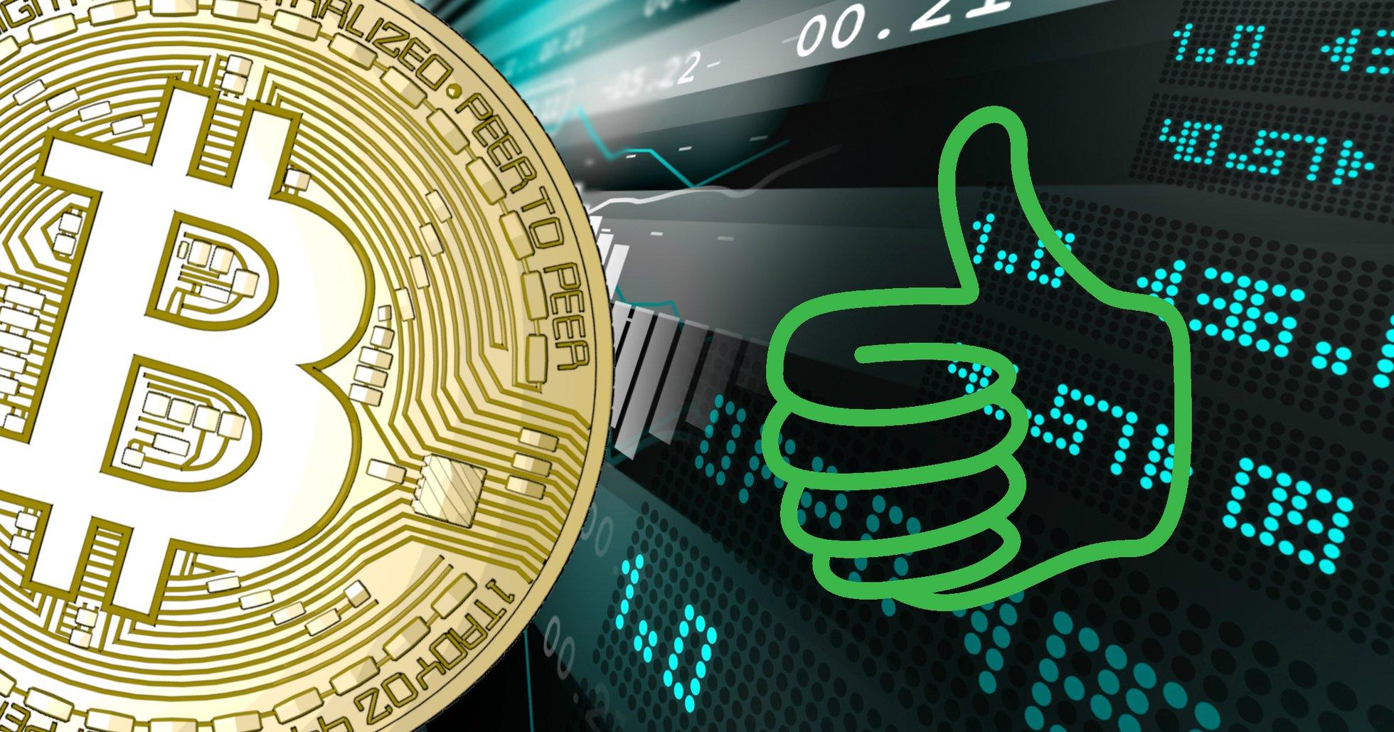 Bitcoin på plus inför helgen – priset håller sig över 10 000 dollar.