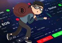Maskerade män gjorde inbrott på kryptobörs