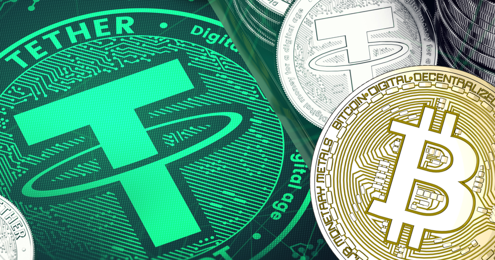 Crypto markets are declining while market cap of tether is increasing.