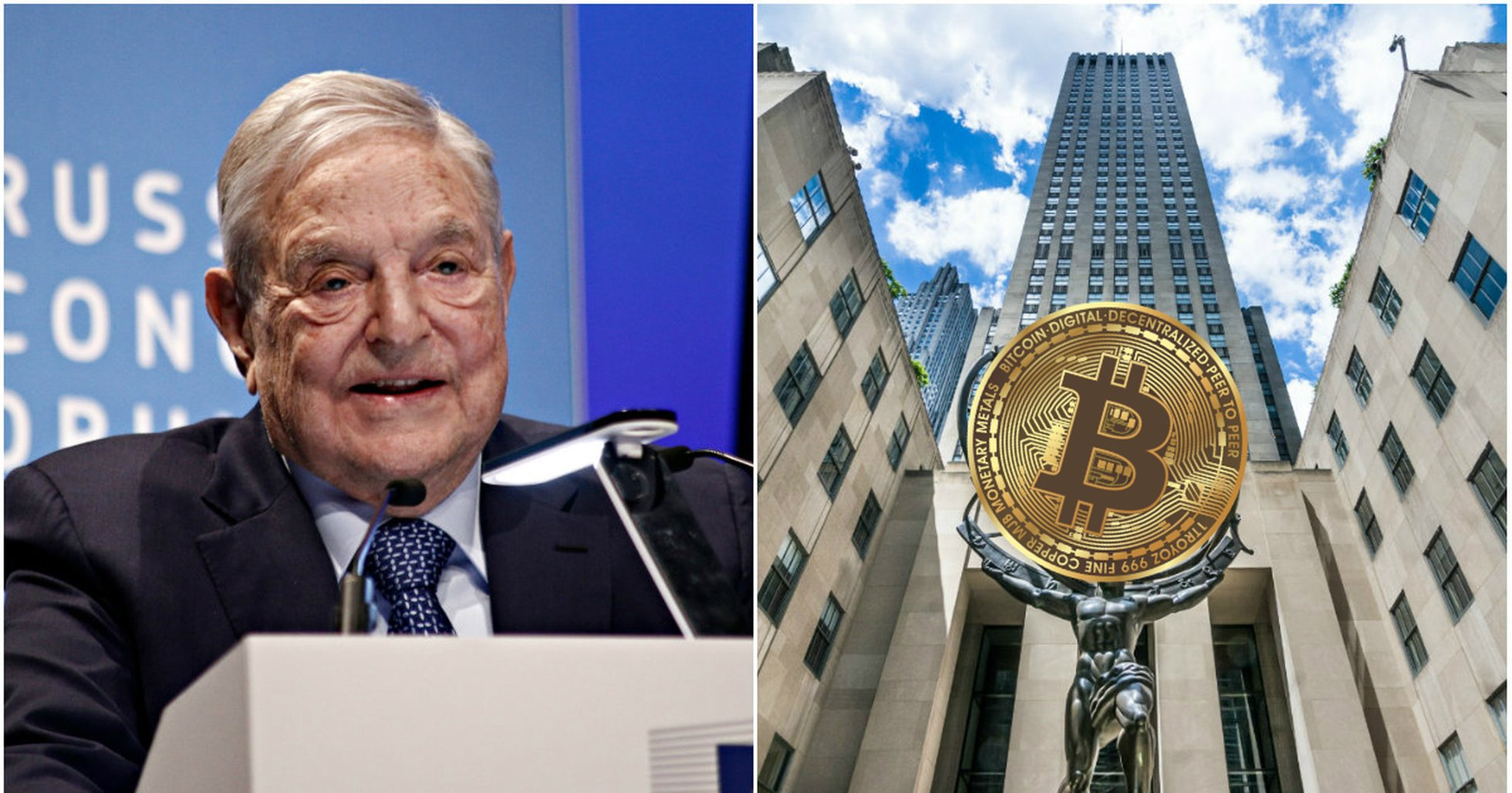 George Soros Rockefeller kryptovalutor.