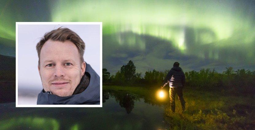 Andreas Lind, vd för Swedish Lapland Visitors Board. Foto: Swedish Lapland