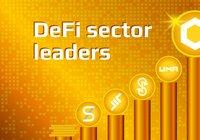 Priserna på defi-tokens studsar upp – ethereum rusar 14 procent på ett dygn