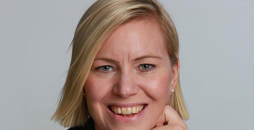 Johanna Hellström blir vd för Tapetfabriken.  Foto: Pressbild