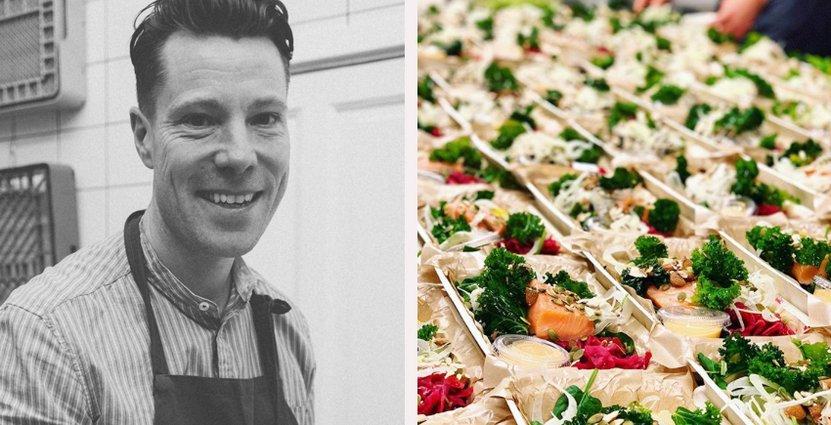 Johan Lalin vill förenkla för folk att äta hälsosamt i en stressig vardag. Foto: Doktor Mat