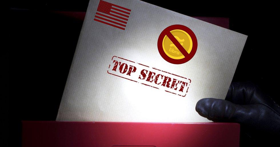 Läckta dokumentet avslöjar: Facebooks kryptovaluta libra kan förbjudas
