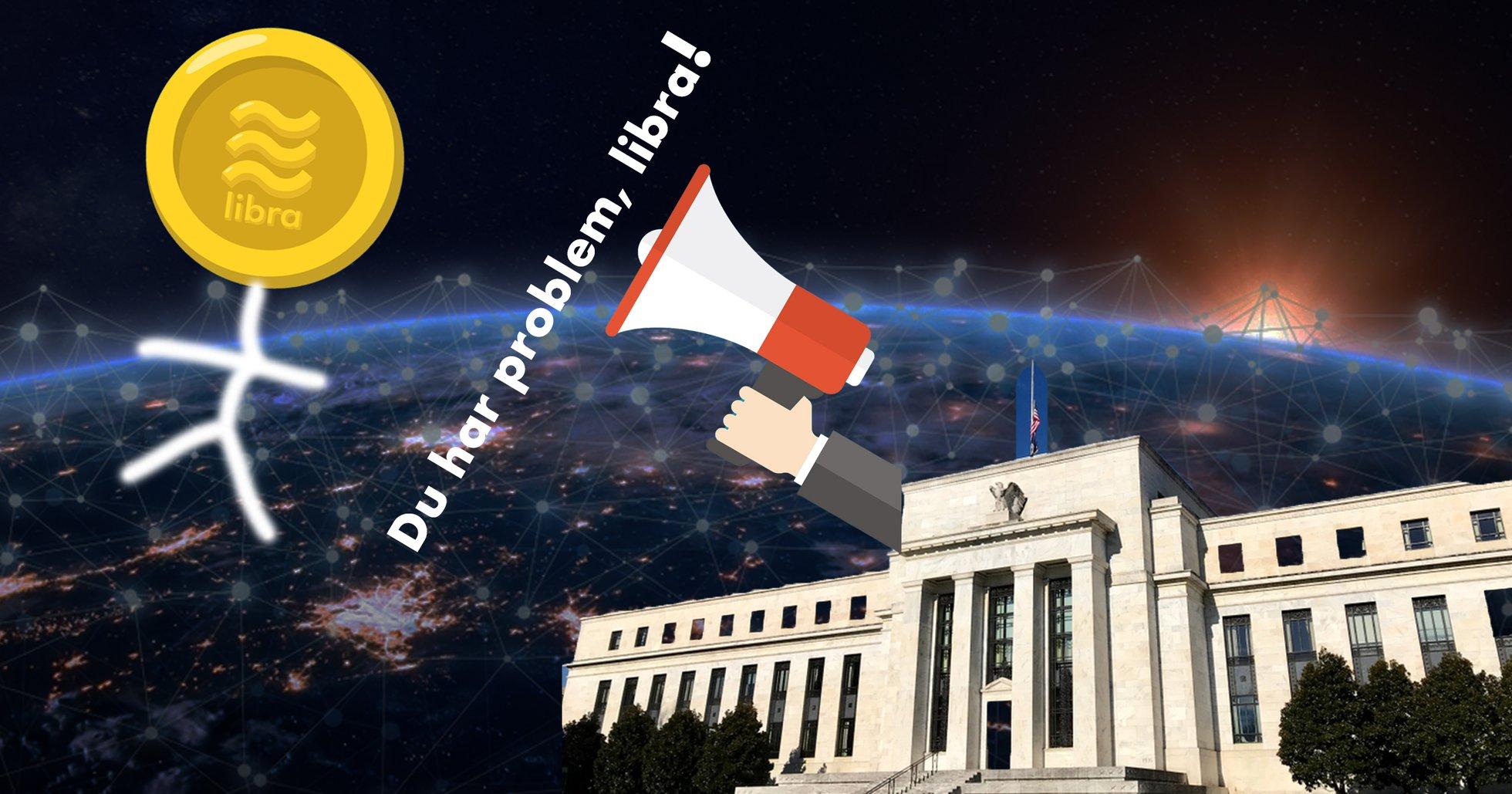 Amerikanska centralbankschefen: Facebooks kryptovaluta libra har problem som måste lösas