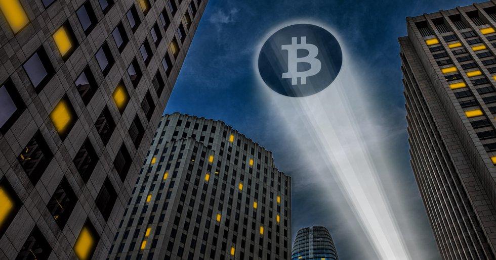 Bitcoinpriset handlas kring 9 500 dollar medan ny data visar att efterfrågan ökar.