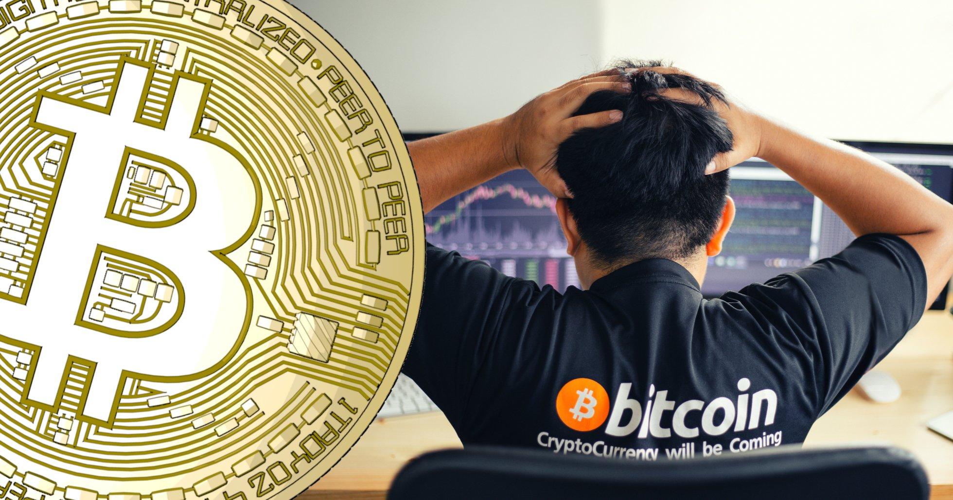 Bitcoinpriset åter under 7 000 dollar.
