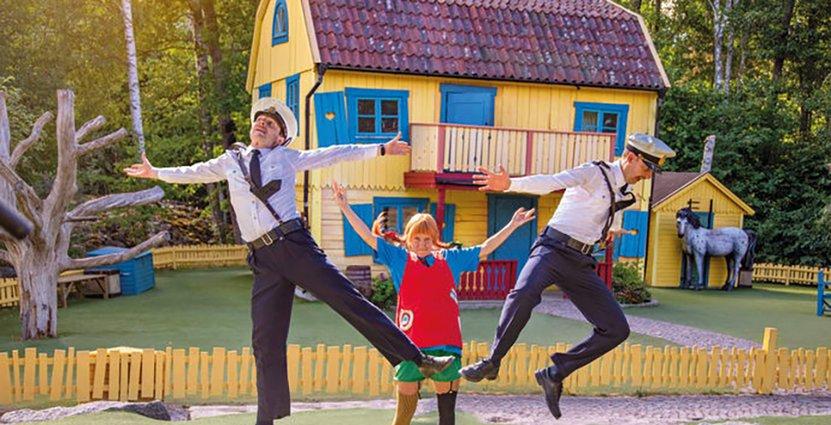 Astrid Lindgrens Värld tvingas stänga för säsongen. Foto: Astrid Lindgrens Värld