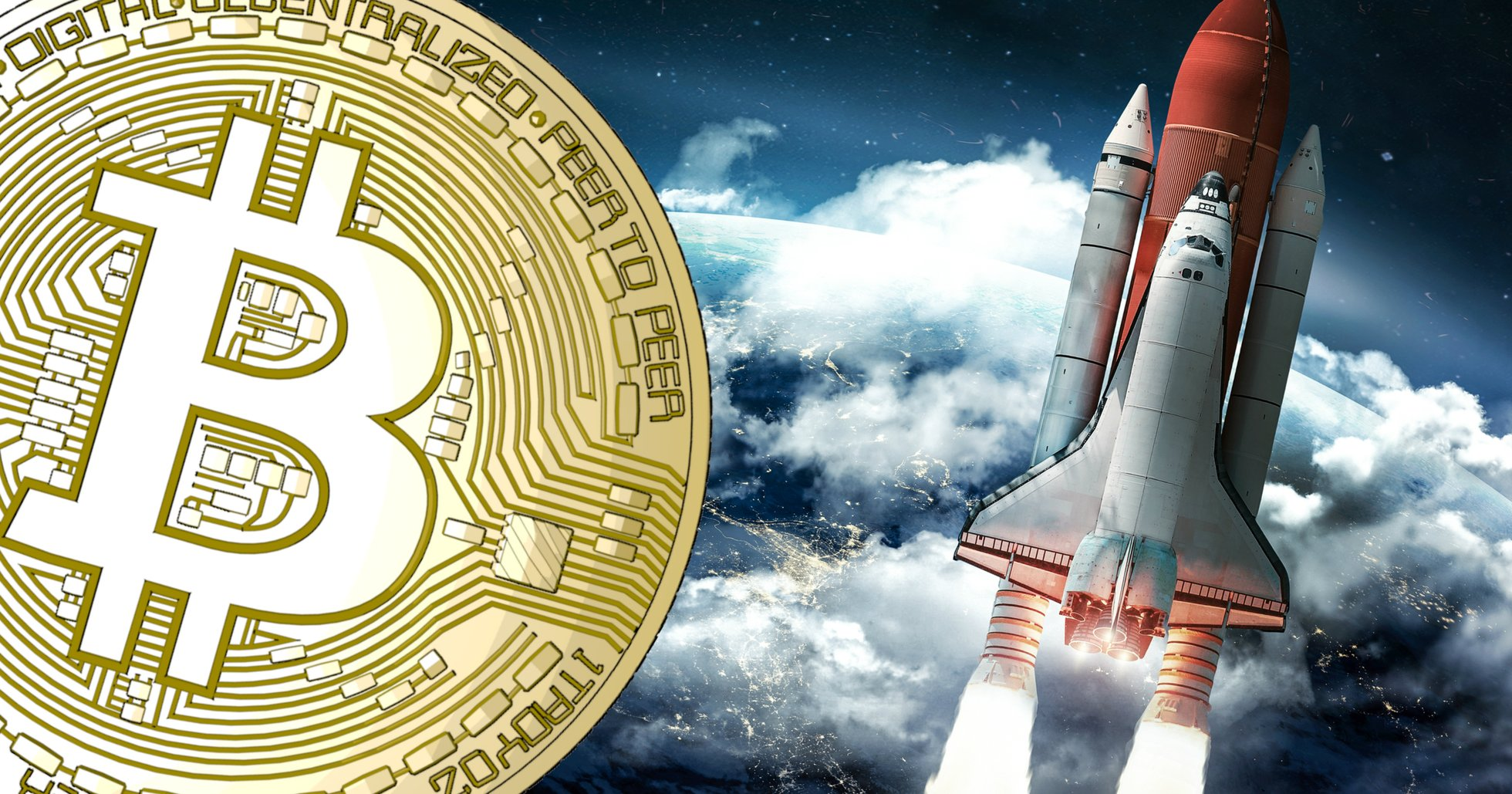 Bitcoinpriset upp 11 procent sedan i helgen – handlas återigen kring 9 000 dollar.