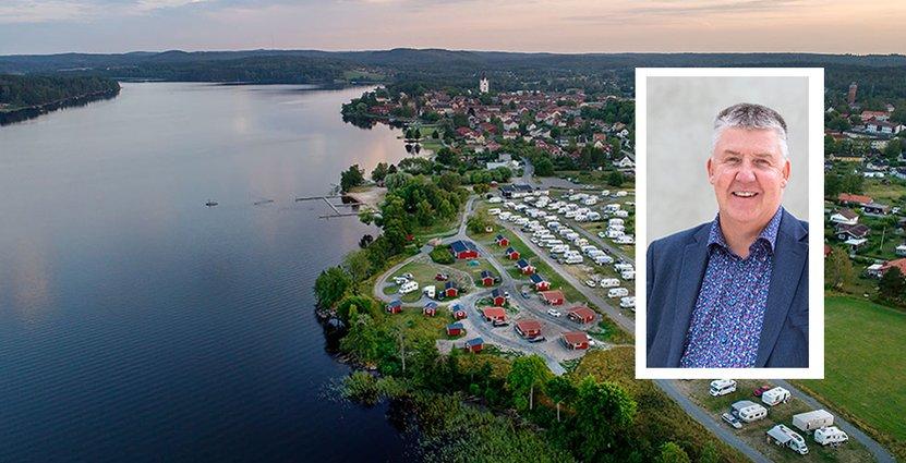 Peter Jansson, tf vd på SCR, hoppas på en starkare sensommar för landets campingar. Pressbild