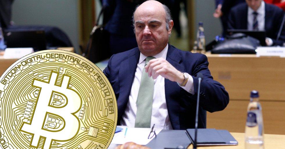 ECB-chef: Bitcoin är ingen riktig investering