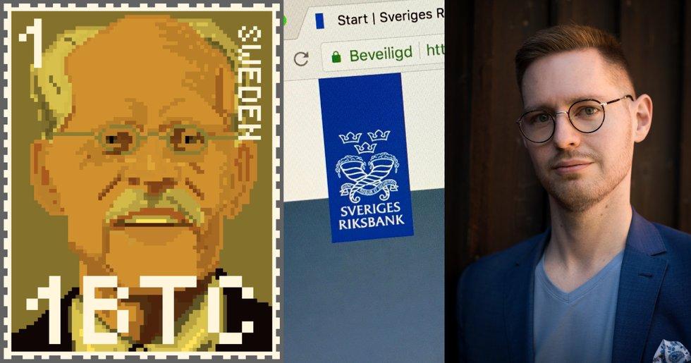 Kryptoexpert när Ingves jämför bitcoin med frimärken: