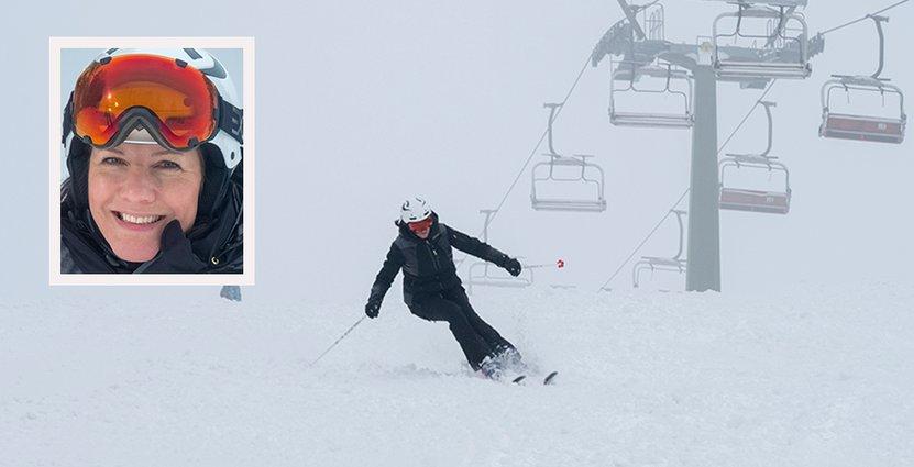 Under sportlovsveckorna 7 och 8 hade Isaberg<br />  7000 färre dagsgäster än i fjol. Foto: Isaberg Mountain Resort