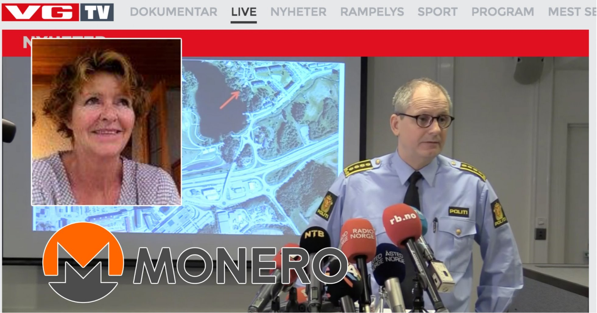 Norsk polis bekräftar: Kommunikationen med kidnapparna sköts via kryptovaluta.