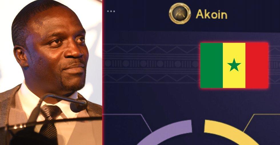 Sångaren Akon ska bygga en kryptostad i Senegal