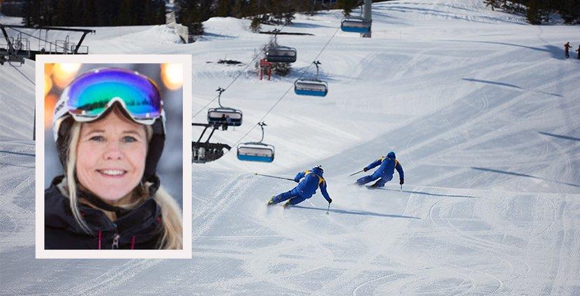 Slao känner sig trygga med skidanläggningarnas förberedelser, säger vd Titti Rodling. Foto: Jens Blixth