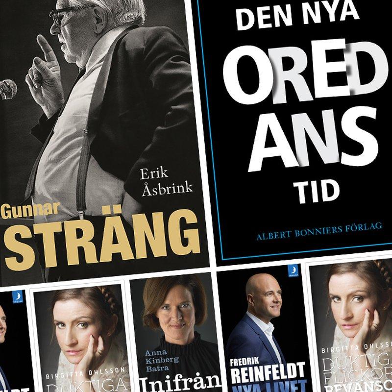 Makt, intriger och rävspel — läs 5 böcker av politiker
