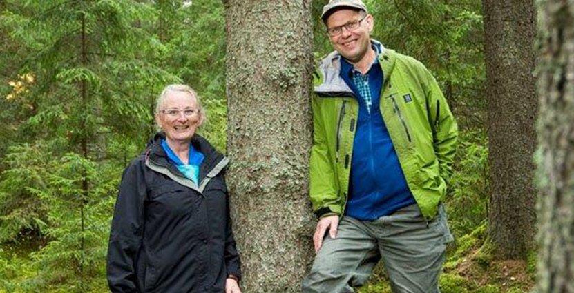 Cecilia och Leif Öster driver Dalagården.
