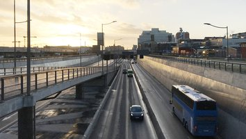 E45 i centrala Göteborg stängs under två helger