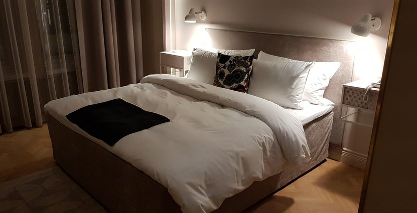 Robotar kan hjälpa till att städa hotellrummet men än så länge inte bädda sängen Anders Johansson